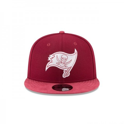 TAMPA BAY BUCCANEERS TONAL CHOICE CARDINAL RED 9FIFTY SNAPBACK - Sale