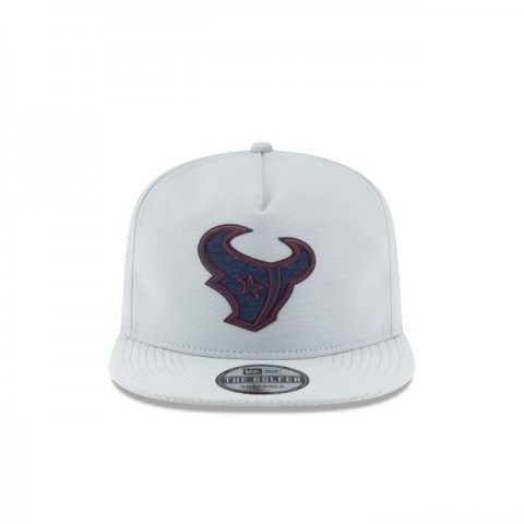 HOUSTON TEXANS NFL TRAINING GREY GOLFER