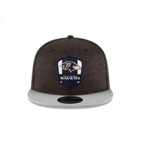 BALTIMORE RAVENS OFFICIAL SIDELINE ROAD 9FIFTY SNAPBACK