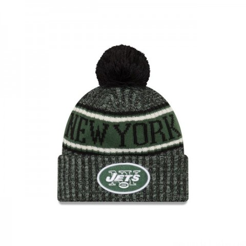NEW YORK JETS REVERSED COLD WEATHER SPORT KNIT