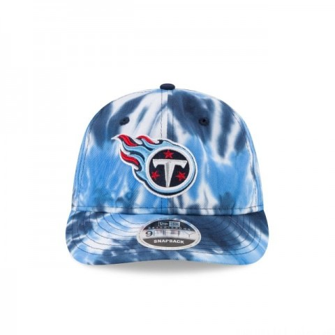 TENNESSEE TITANS MARBLED RETRO CROWN 9FIFTY SNAPBACK