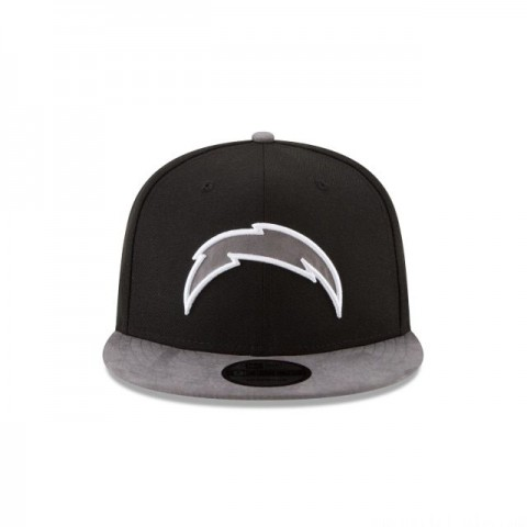LOS ANGELES CHARGERS TONAL CHOICE BLACK 9FIFTY SNAPBACK - Sale