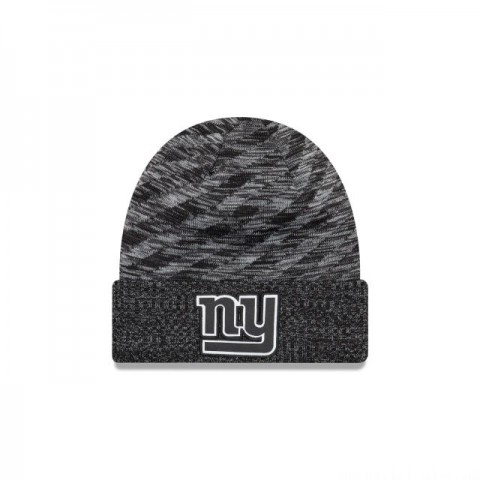 NEW YORK GIANTS BLACK COLD WEATHER TOUCHDOWN KNIT