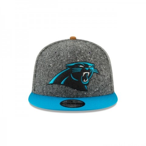 CAROLINA PANTHERS SUEDE ON TWEED 9FIFTY STRAPBACK