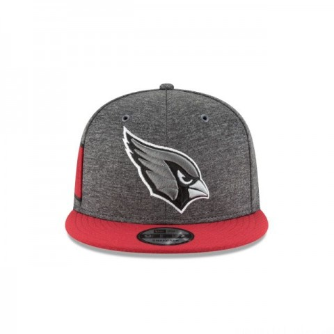 ARIZONA CARDINALS GRAPHITE SIDELINE HOME 9FIFTY SNAPBACK