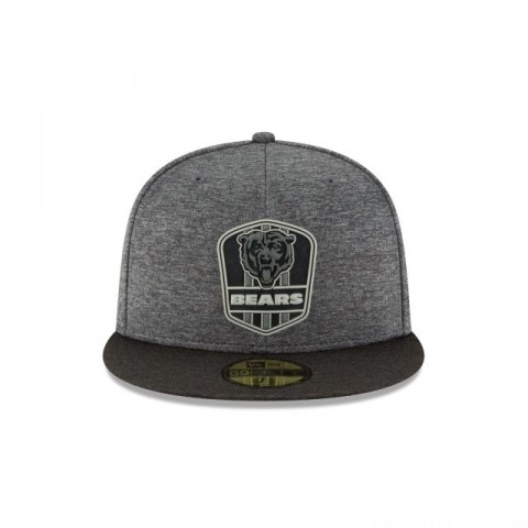 CHICAGO BEARS NFL SIDELINE ROAD 59FIFTY FITTED