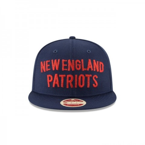 NEW ENGLAND PATRIOTS VINTAGE TEAM THREAD 9FIFTY SNAPBACK - Sale