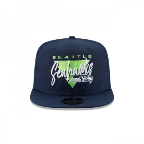 SEATTLE SEAHAWKS FRESH FRONT HIGH CROWN 9FIFTY SNAPBACK