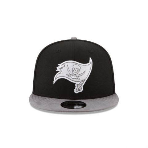 TAMPA BAY BUCCANEERS TONAL CHOICE BLACK 9FIFTY SNAPBACK