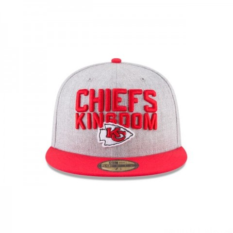 KANSAS CITY CHIEFS KIDS NFL DRAFT 59FIFTY FITTED