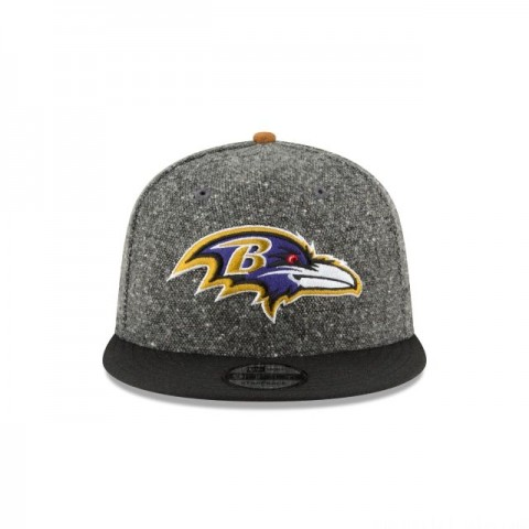 BALTIMORE RAVENS SUEDE ON TWEED 9FIFTY STRAPBACK - Sale