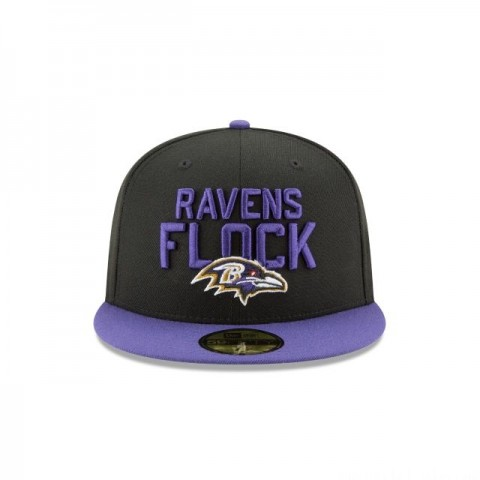 BALTIMORE RAVENS SPOTLIGHT 59FIFTY FITTED