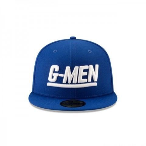NEW YORK GIANTS NFL LOGO ELEMENTS 59FIFTY FITTED