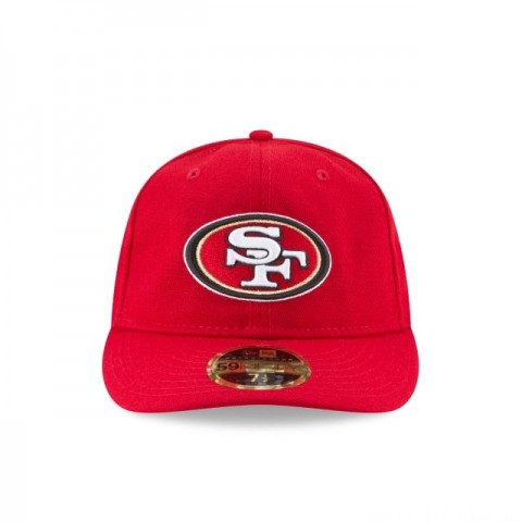 SAN FRANCISCO 49ERS FAN FIT RETRO CROWN 59FIFTY FITTED