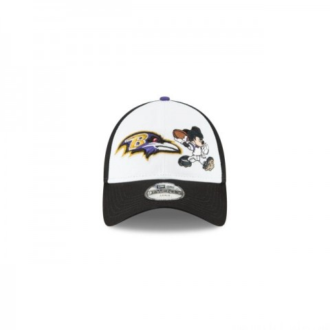 KIDS BALTIMORE RAVENS MICKEY MOUSE 9TWENTY ADJUSTABLE - Sale