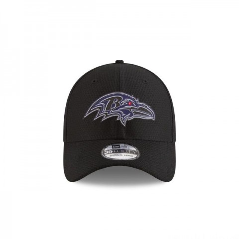 BALTIMORE RAVENS NFL TRAINING KIDS 39THIRTY STRETCH FIT - Sale