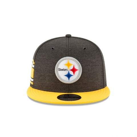 PITTSBURGH STEELERS OFFICIAL SIDELINE HOME 9FIFTY SNAPBACK - Sale