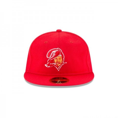 TAMPA BAY BUCCANEERS WOOL RETRO CROWN 59FIFTY FITTED