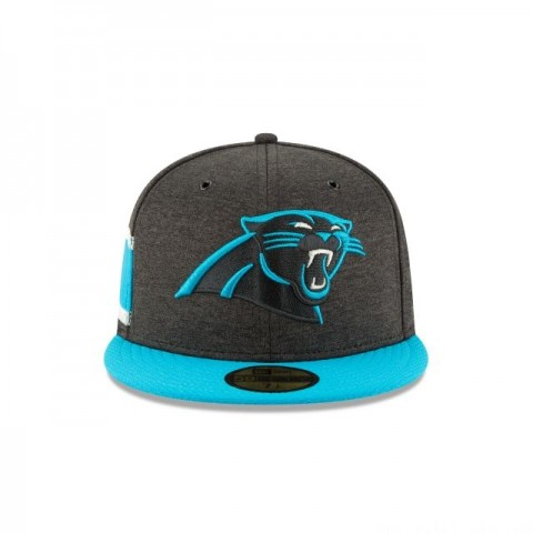 CAROLINA PANTHERS OFFICIAL SIDELINE HOME KIDS 59FIFTY FITTED