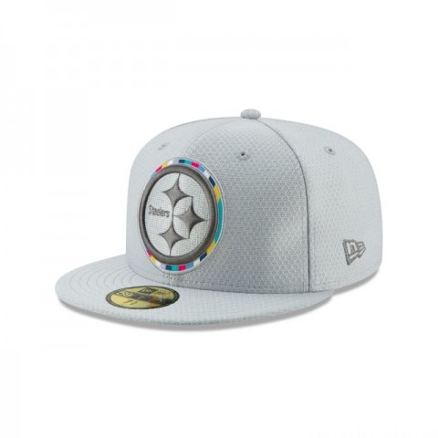 PITTSBURGH STEELERS CRUCIAL CATCH 59FIFTY FITTED - Sale