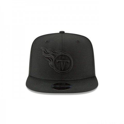 TENNESSEE TITANS BLACK ON BLACK HIGH CROWN 9FIFTY SNAPBACK