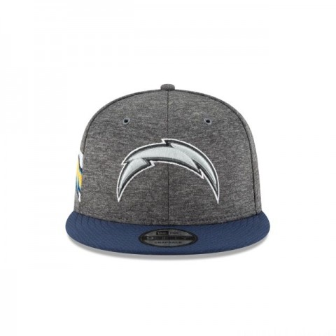 LOS ANGELES CHARGERS GRAPHITE SIDELINE HOME 9FIFTY SNAPBACK - Sale