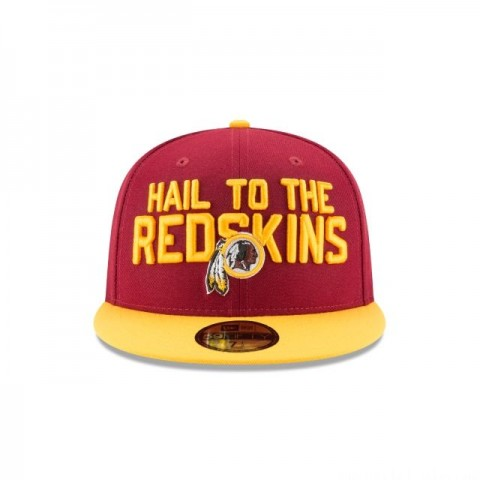 WASHINGTON REDSKINS SPOTLIGHT 59FIFTY FITTED