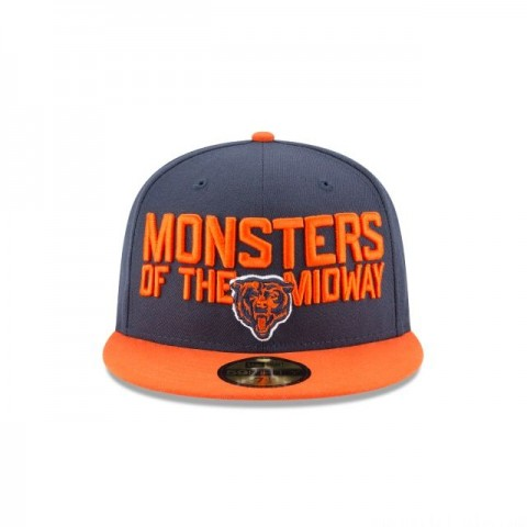 CHICAGO BEARS SPOTLIGHT 59FIFTY FITTED