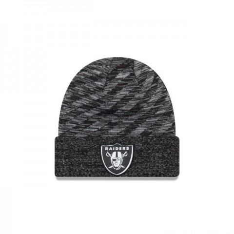 OAKLAND RAIDERS BLACK COLD WEATHER TOUCHDOWN KNIT - Sale