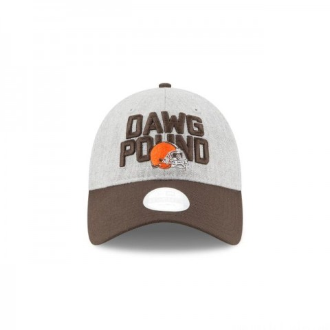 CLEVELAND BROWNS WOMENS NFL DRAFT 9TWENTY ADJUSTABLE - Sale
