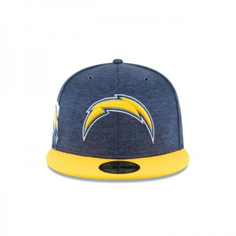 LOS ANGELES CHARGERS OFFICIAL SIDELINE HOME 59FIFTY FITTED - Sale