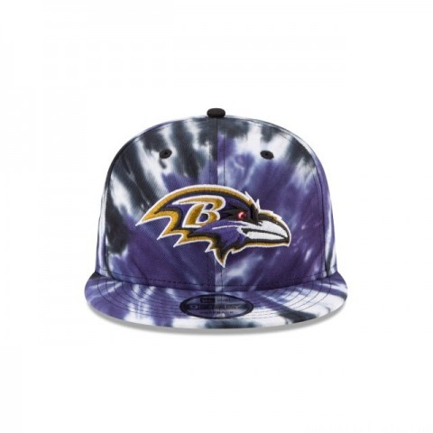 BALTIMORE RAVENS MARBLED  9FIFTY SNAPBACK