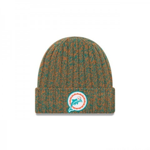 MIAMI DOLPHINS WOMENS COLD WEATHER KNIT - Sale