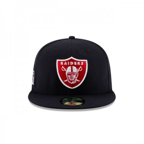 OAKLAND RAIDERS CRAFTED IN THE USA 59FIFTY FITTED