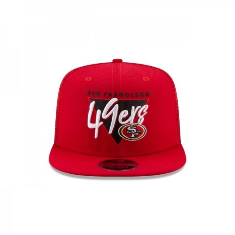 SAN FRANCISCO 49ERS FRESH FRONT HIGH CROWN 9FIFTY SNAPBACK