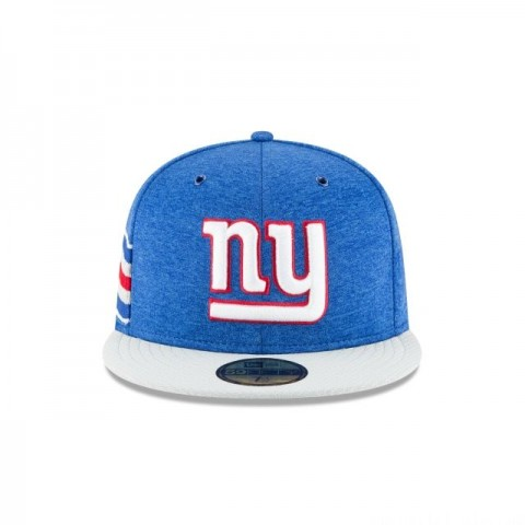 NEW YORK GIANTS OFFICIAL SIDELINE HOME 59FIFTY FITTED