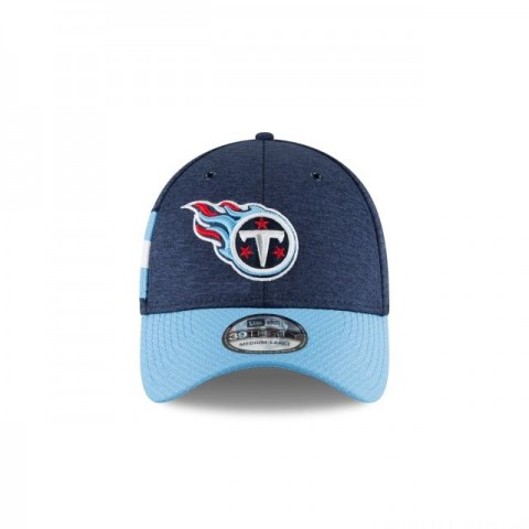 TENNESSEE TITANS OFFICIAL SIDELINE HOME 39THIRTY STRETCH FIT