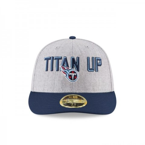 TENNESSEE TITANS NFL DRAFT ON STAGE LOW PROFILE 59FIFTY FITTED
