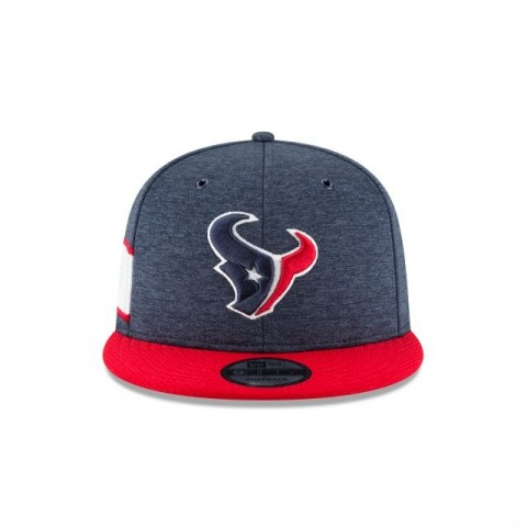 HOUSTON TEXANS OFFICIAL SIDELINE HOME KIDS 9FIFTY SNAPBACK