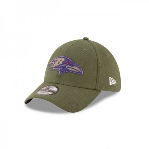 BALTIMORE RAVENS SALUTE TO SERVICE 39THIRTY STRETCH FIT - Sale