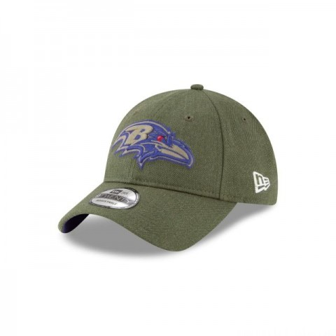 BALTIMORE RAVENS SALUTE TO SERVICE 9TWENTY ADJUSTABLE - Sale