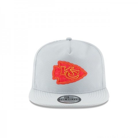 KANSAS CITY CHIEFS NFL TRAINING GREY GOLFER