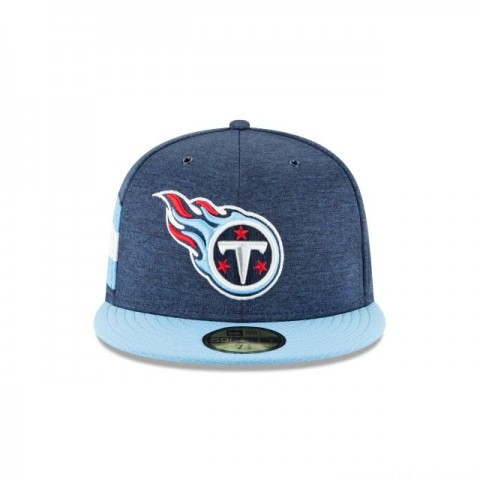 TENNESSEE TITANS OFFICIAL SIDELINE HOME 59FIFTY FITTED