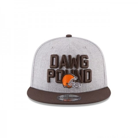 CLEVELAND BROWNS KIDS NFL DRAFT 9FIFTY SNAPBACK - Sale