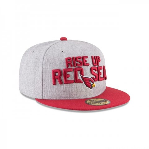 ARIZONA CARDINALS NFL DRAFT 59FIFTY FITTED