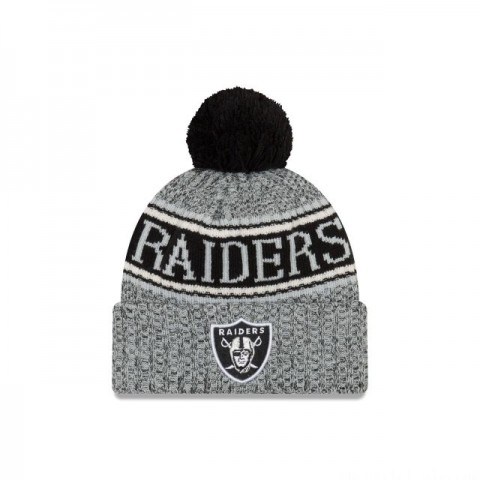 OAKLAND RAIDERS REVERSED COLD WEATHER SPORT KNIT