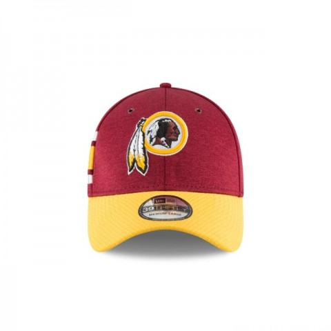 WASHINGTON REDSKINS OFFICIAL SIDELINE HOME 39THIRTY STRETCH FIT