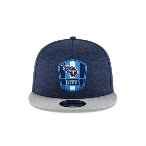 TENNESSEE TITANS OFFICIAL SIDELINE ROAD 9FIFTY SNAPBACK