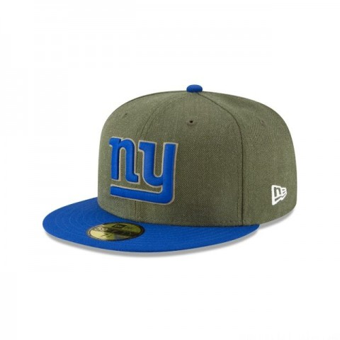 NEW YORK GIANTS SALUTE TO SERVICE 59FIFTY FITTED