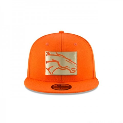 DENVER BRONCOS GOLD STATED 59FIFTY FITTED - Sale